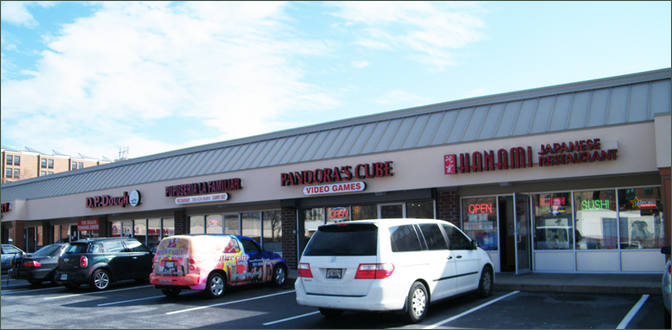 Small Stores for Rent College Park MD - Campus Village Shoppes - Prince Georges County