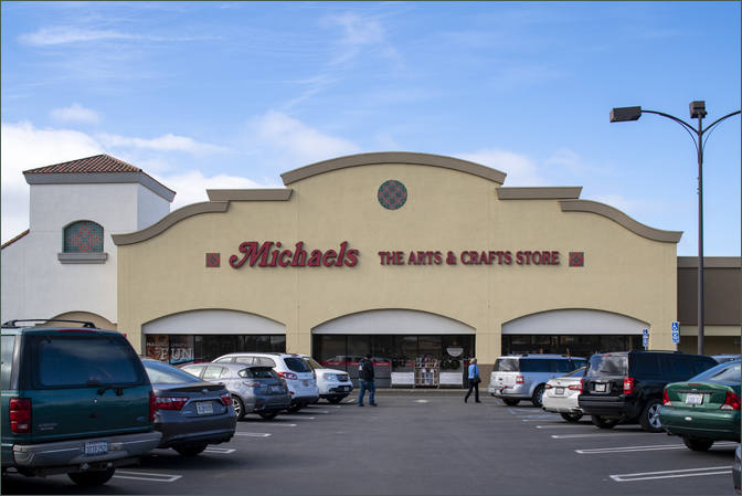 Commercial Retail Property - Lompoc Center California with Vons