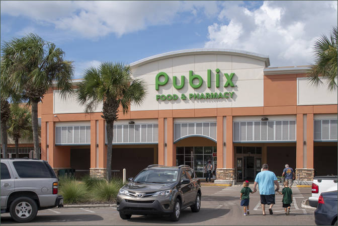 Restaurant Space for Lease Deland FL Next to Publix - Northgate Shopping Center