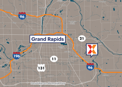 Commercial Retail Space For Lease - Cascade East Grand Rapids Michigan