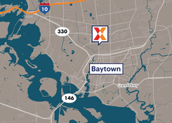 Commercial Retail Space For Lease - Baytown Shopping Center Baytown Texas
