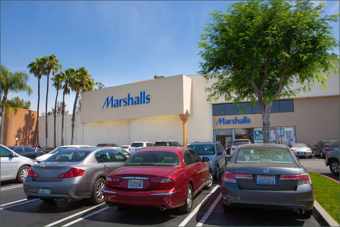 Find Retail Space Rowland Heights CA - Puente Hills Town Center next to Marshall's
