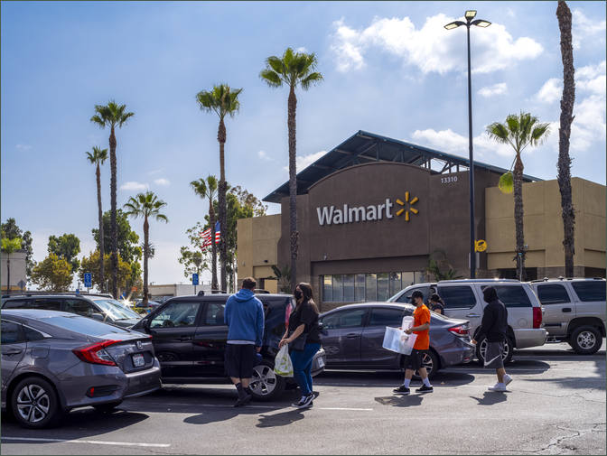 Commercial Retail Property – Gateway Plaza - Santa Fe Springs California – Los Angeles County
