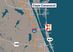 Pad Sites / Retail Space For Lease - Atlantic Plaza Satellite Beach Florida